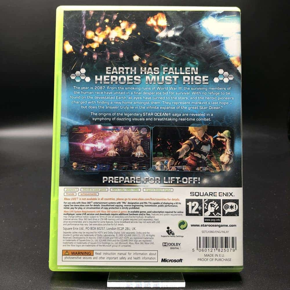 Star Ocean: The Last Hope (Komplett) (Sehr gut) XBOX 360