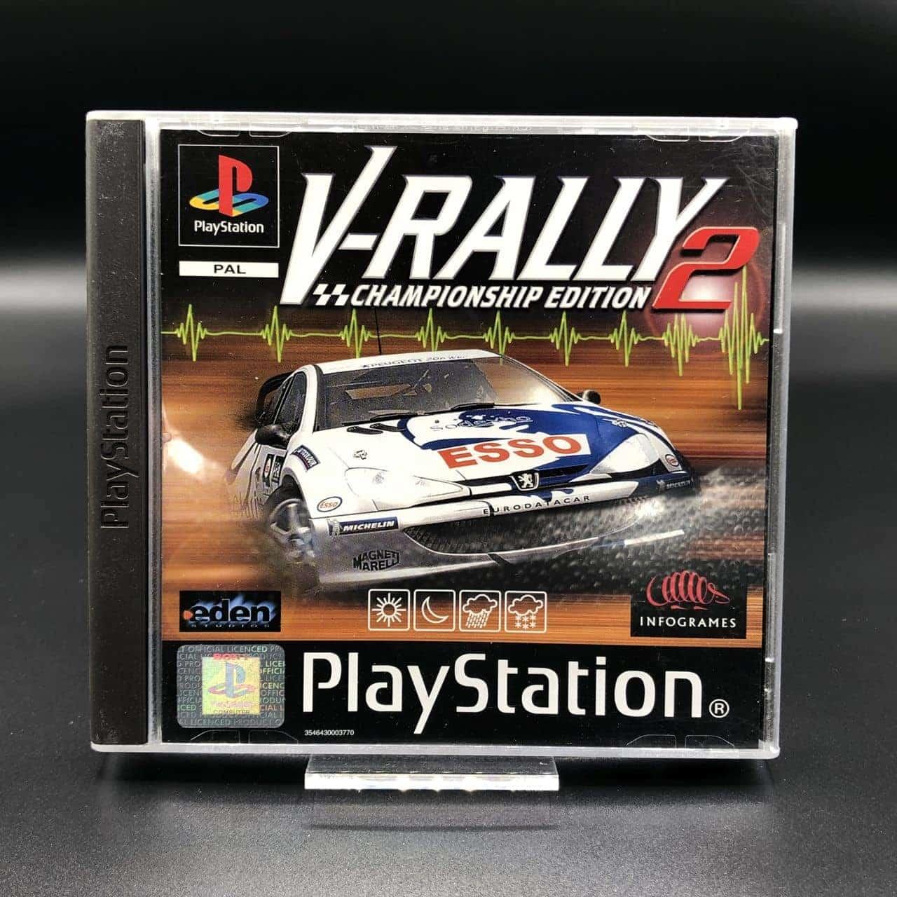 PS1 V-Rally 2 - Championship Edition (Komplett) (Gut) Sony PlayStation 1 #1