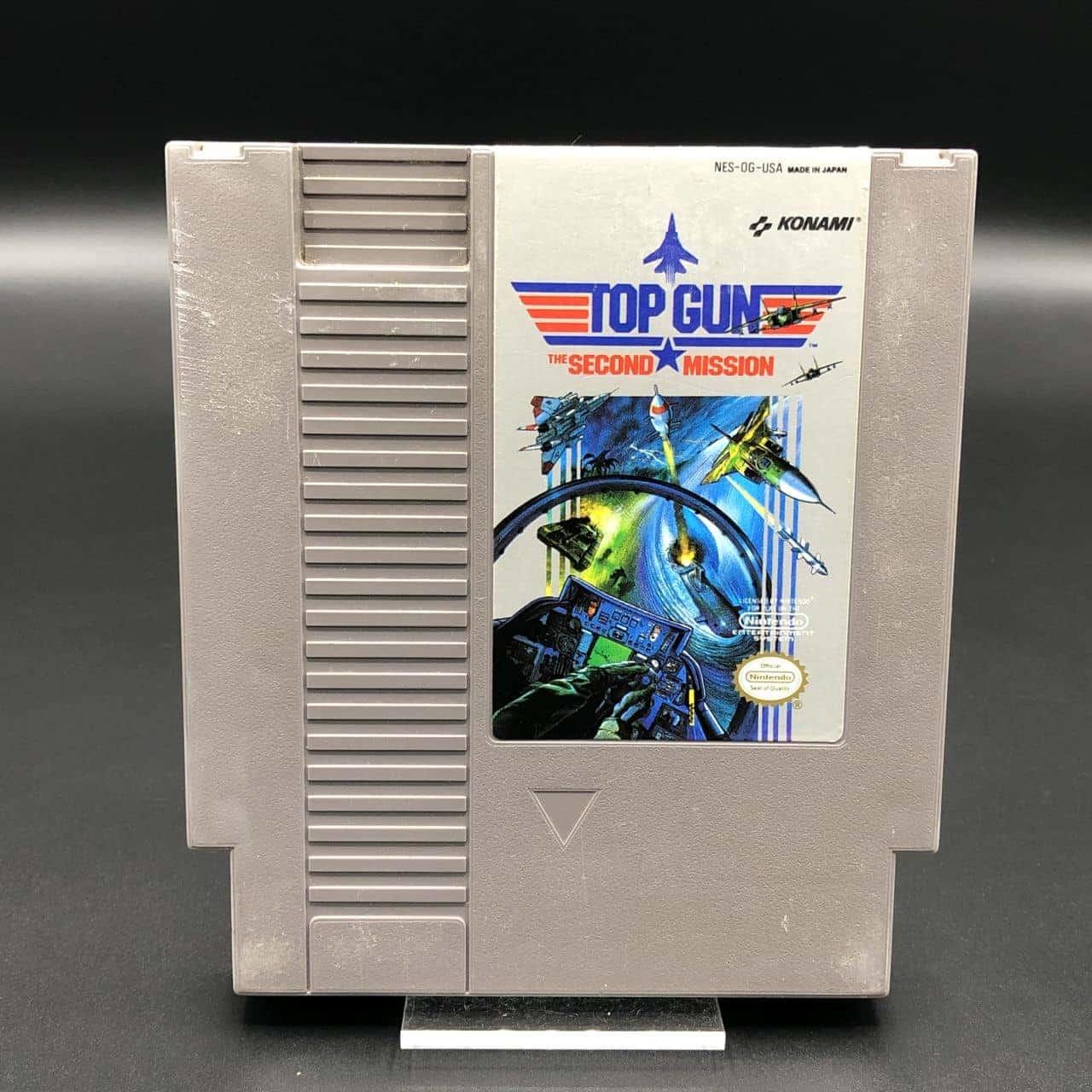 NES Top Gun: The Second Mission (Import USA) (Modul) (Gebrauchsspuren) Nintendo Entertainment System