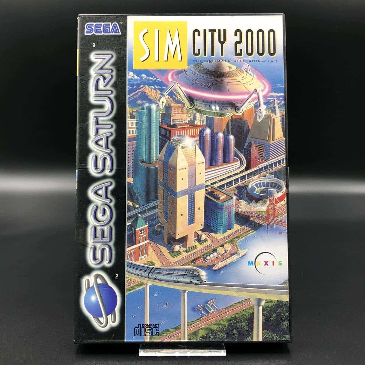 SimCity 2000 (ohne Anleitung) (Gut) Sega Saturn