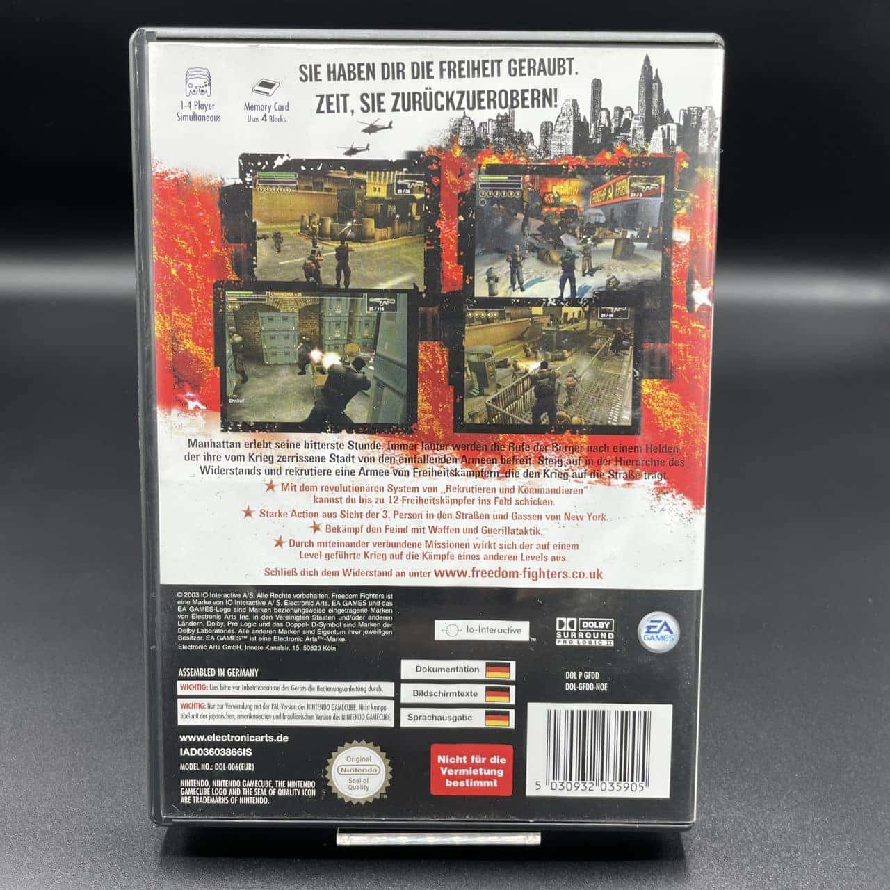 GC Freedom Fighters (Komplett) (Sehr gut) Nintendo GameCube