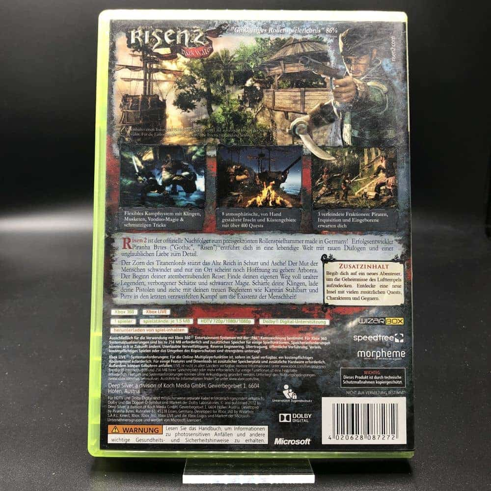 Risen 2: Dark Waters (Komplett) (Gut) XBOX 360