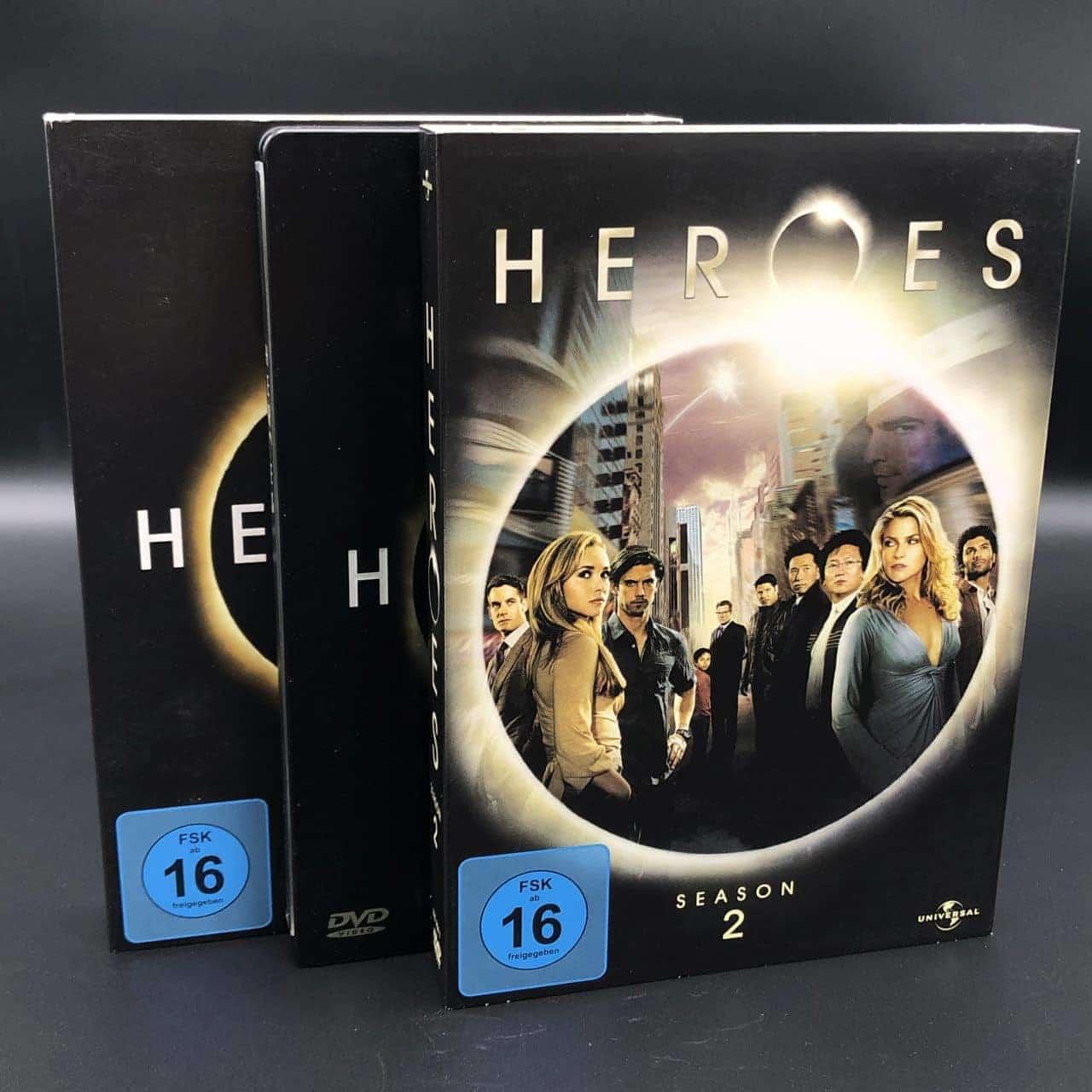Heroes Serie, Staffel 1-2, DVD
