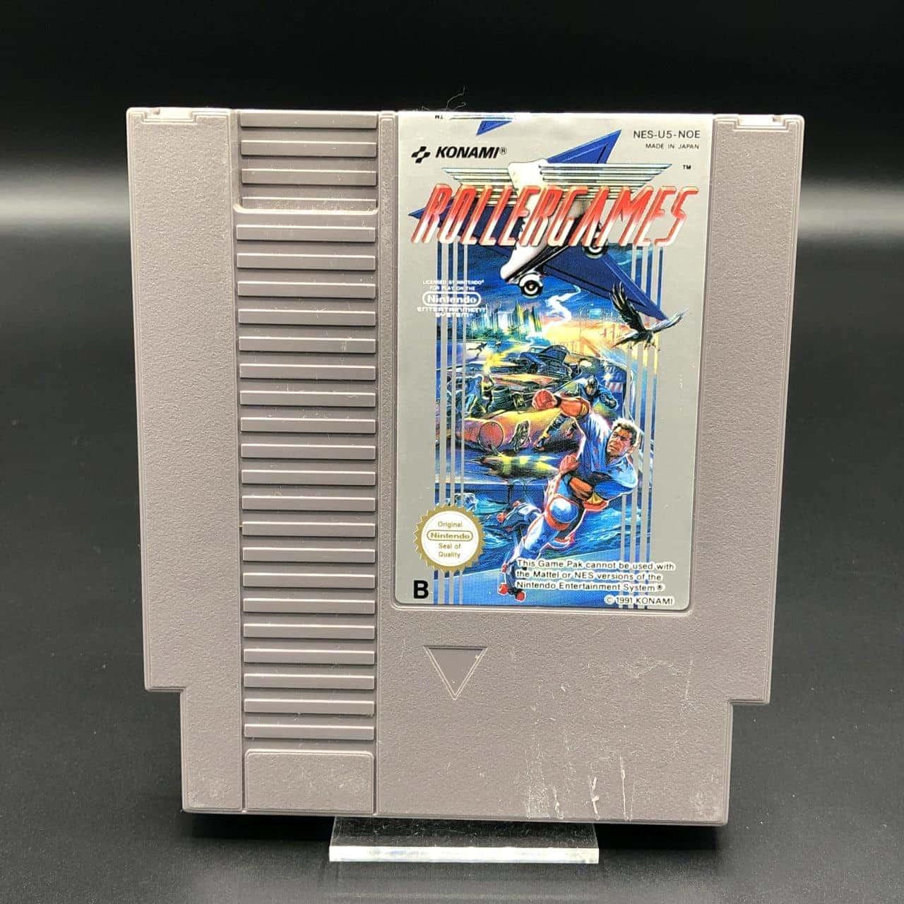 NES RollerGames (Modul) (Gebrauchsspuren) Nintendo Entertainment System