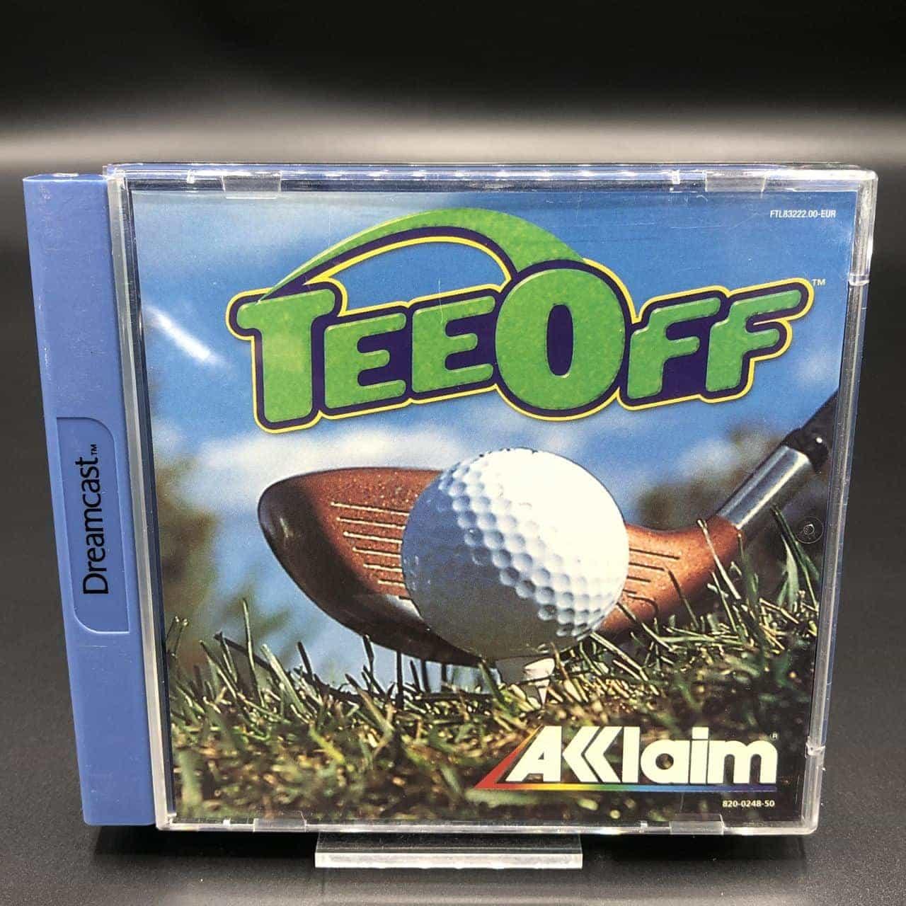 Tee Off (Komplett) (Sehr gut) Sega Dreamcast #2
