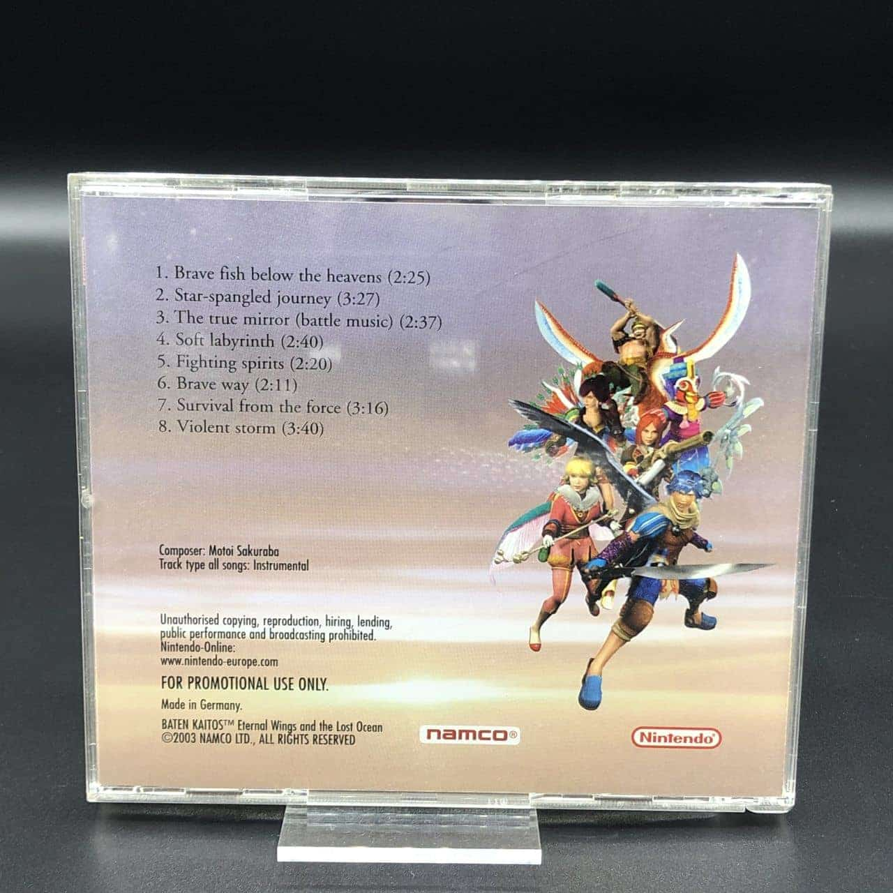 Baten Kaitos: Eternal Wings and the lost Ocean (Soundtrack) (Sehr gut)