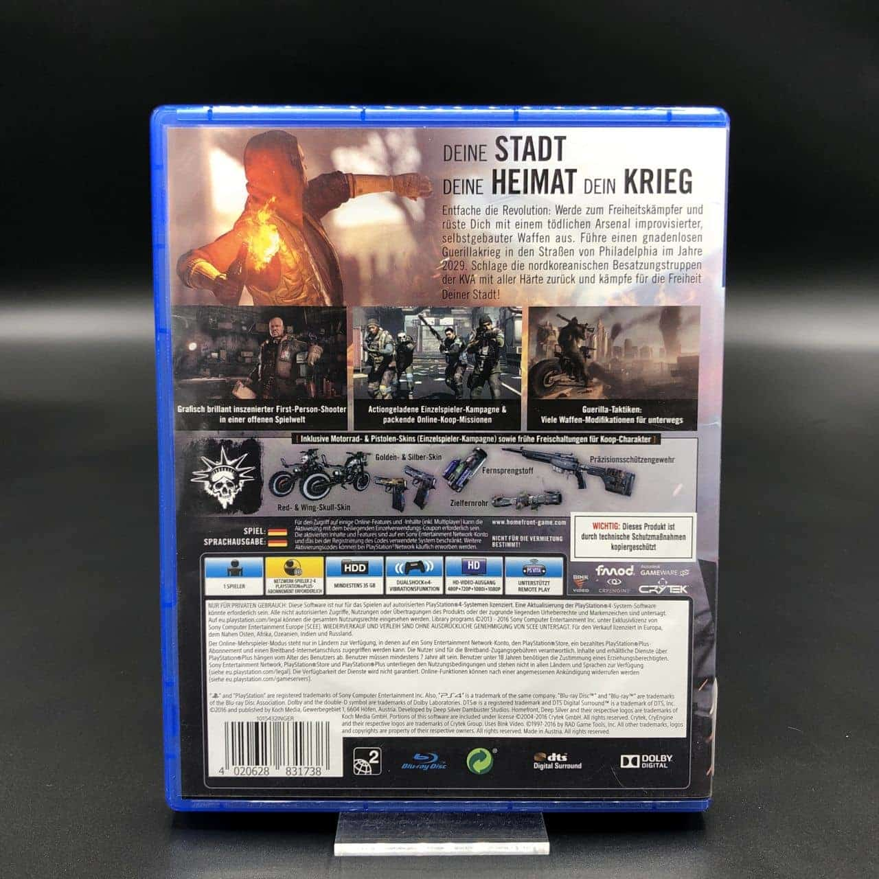 PS4 Homefront: The Revolution (Sehr gut) Sony PlayStation 4 (FSK18)