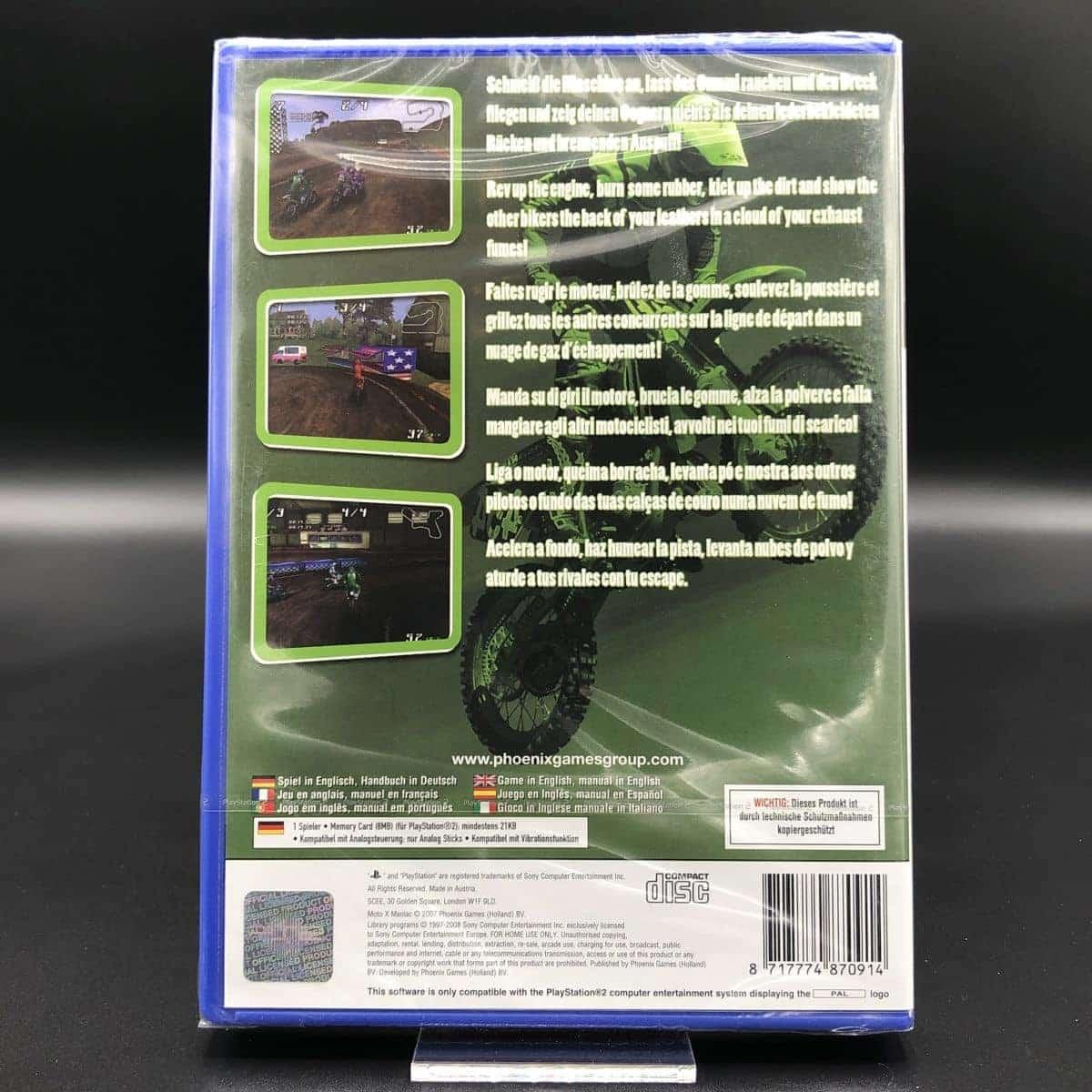 PS2 Moto X Maniac (NEU) Sony PlayStation 2