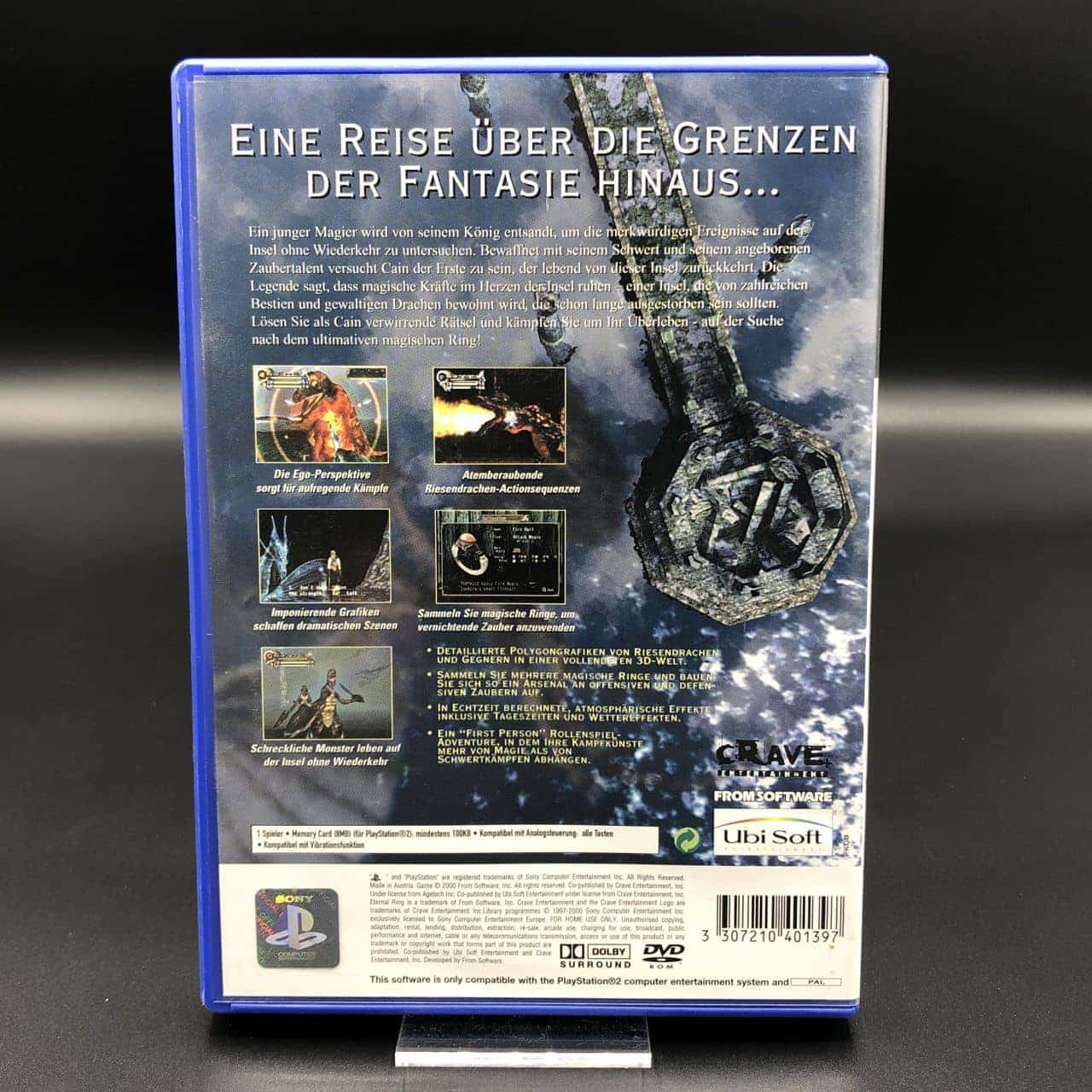 PS2 Eternal Ring (ohne Anleitung) (Sehr gut) Sony PlayStation 2