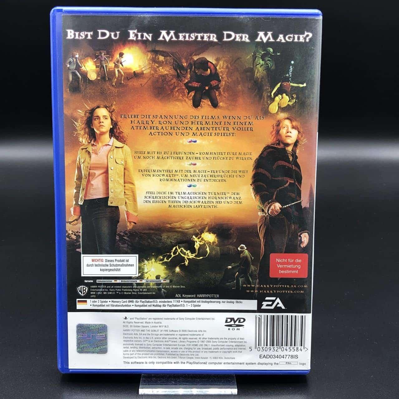 PS2 Harry Potter und der Feuerkelch (Komplett) (Sehr gut) Sony PlayStation 2