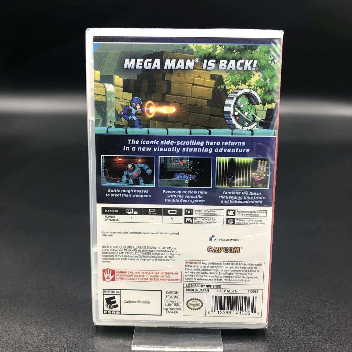 Mega Man 11 (Rock Man 11) (Import) (NEU) Nintendo Switch