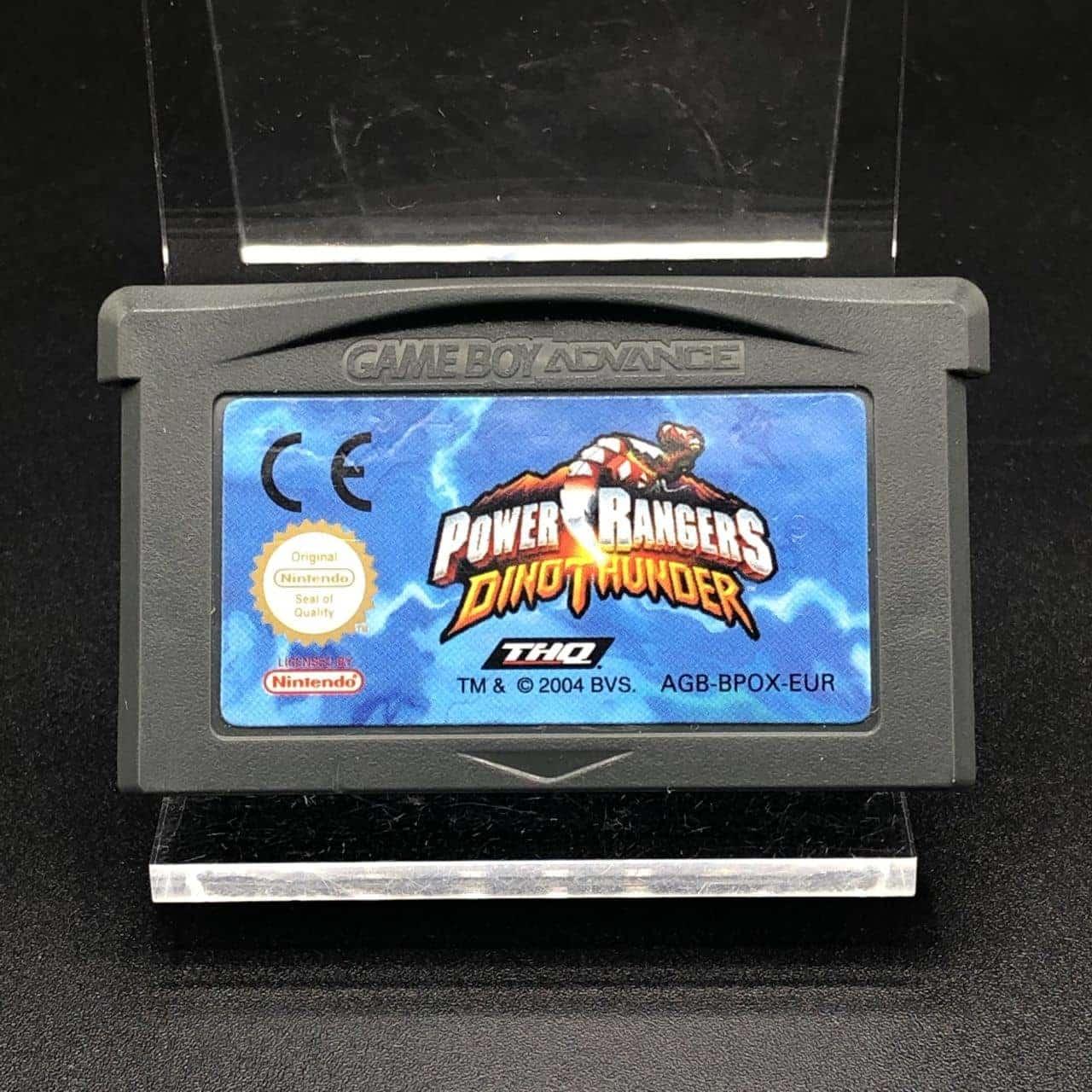 GBA Power Rangers: Dino Thunder (Modul) (Sehr gut) Nintendo Game Boy Advance