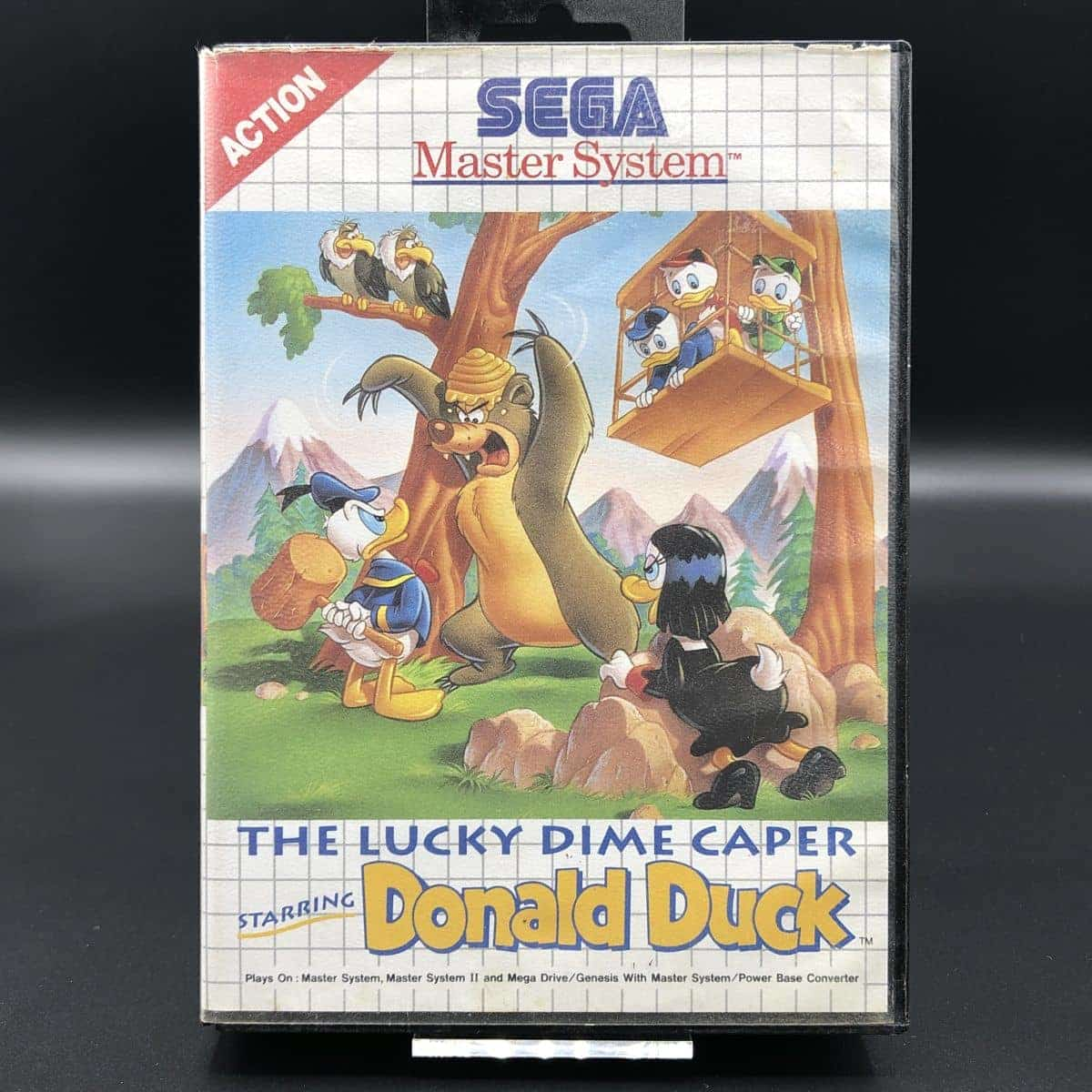 The Lucky Dime Caper starring Donald Duck (ohne Anleitung) (Gut) Sega Master System