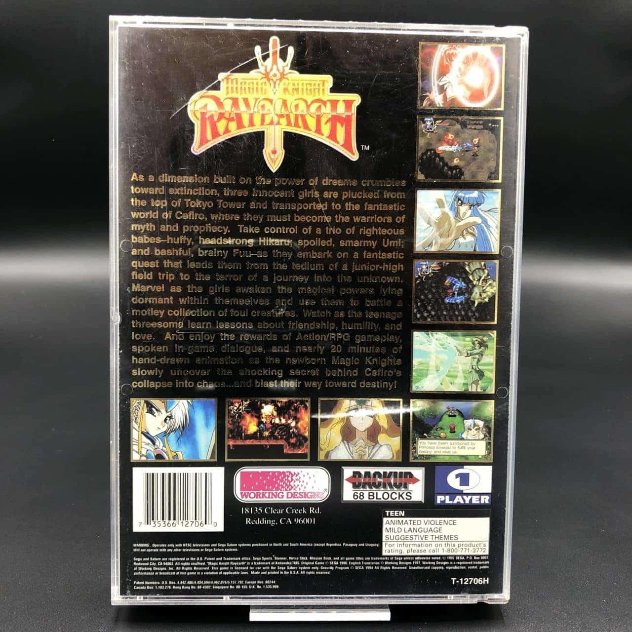 Magic Knight Rayearth (Import USA) (Komplett) (Sehr gut) Sega Saturn