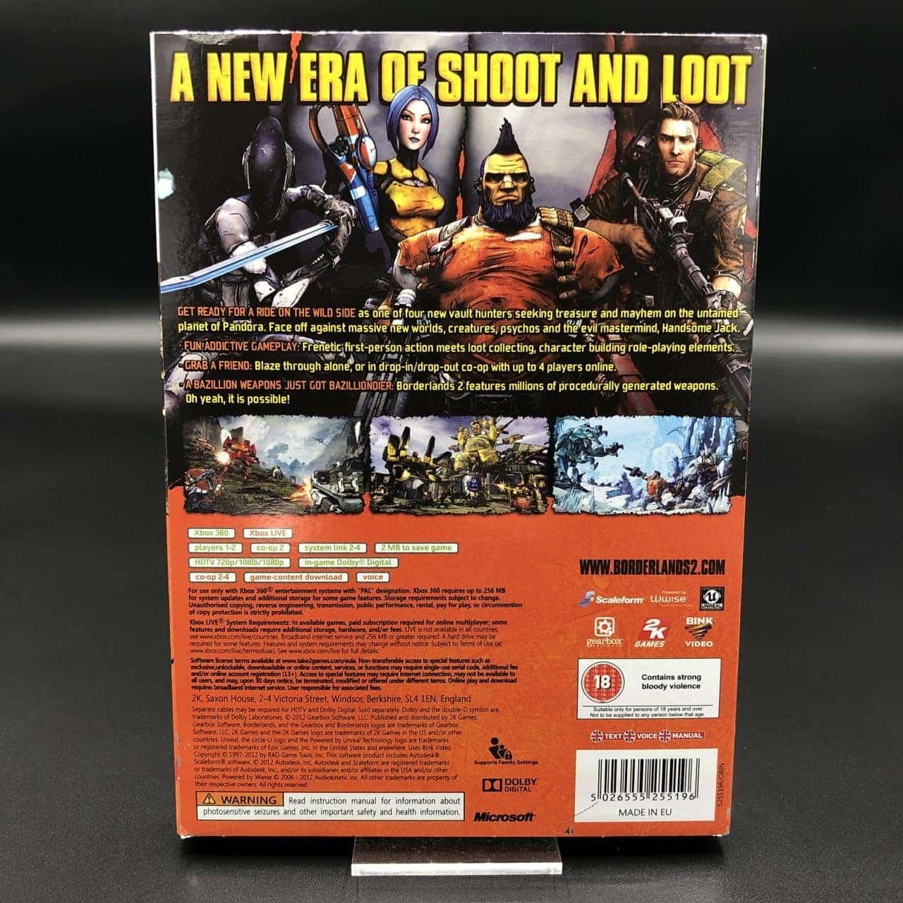Borderlands 2 (Komplett) (Sehr gut) XBOX 360 (FSK18)