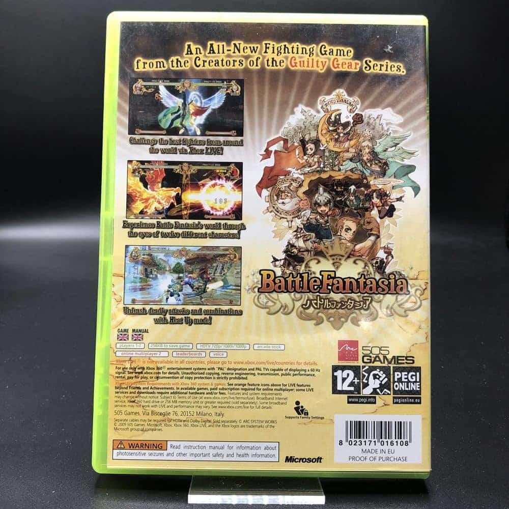 Battle Fantasia (Komplett) (Sehr gut) XBOX 360