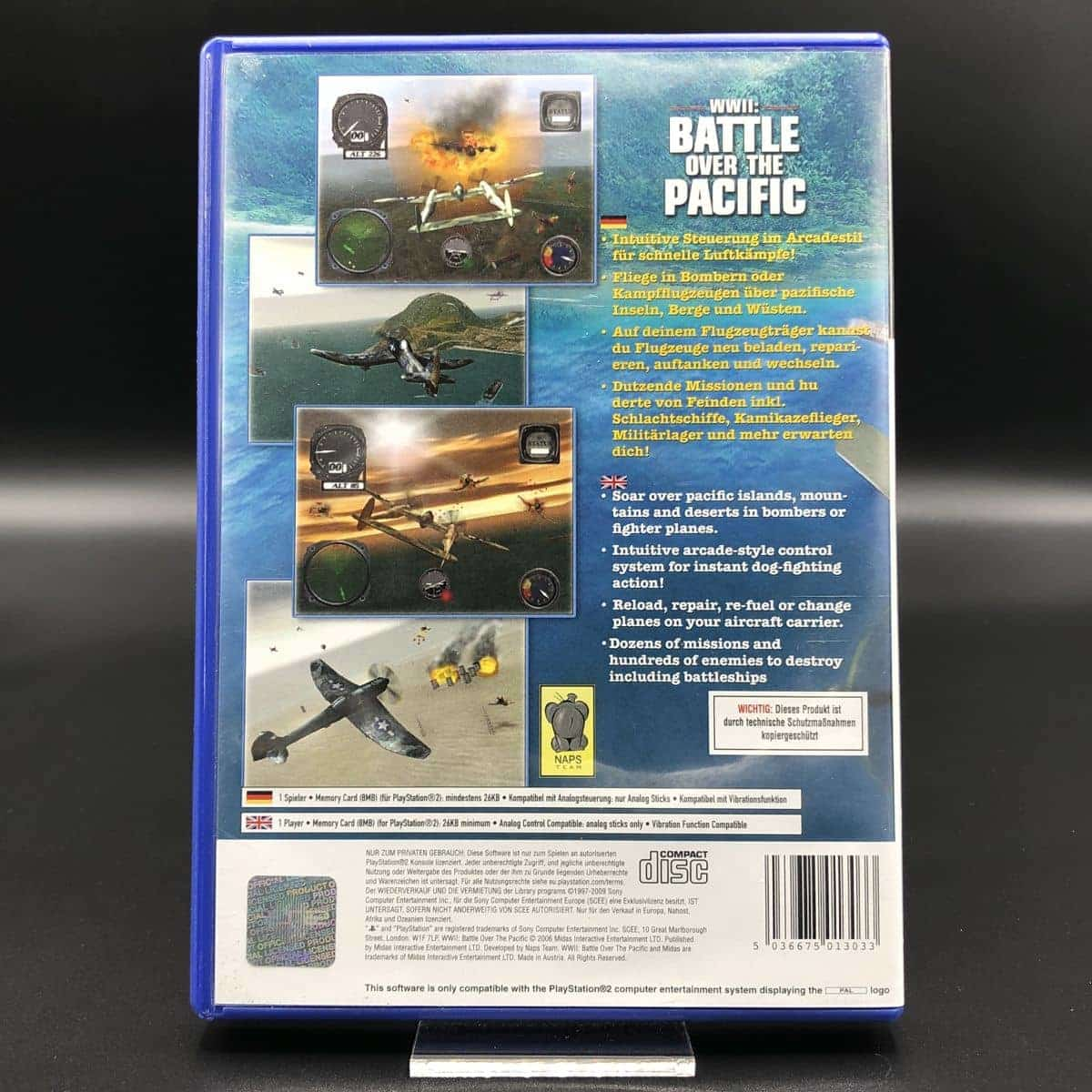 PS2 WWII: Battle Over The Pacific (Komplett) (Sehr gut) Sony PlayStation 2