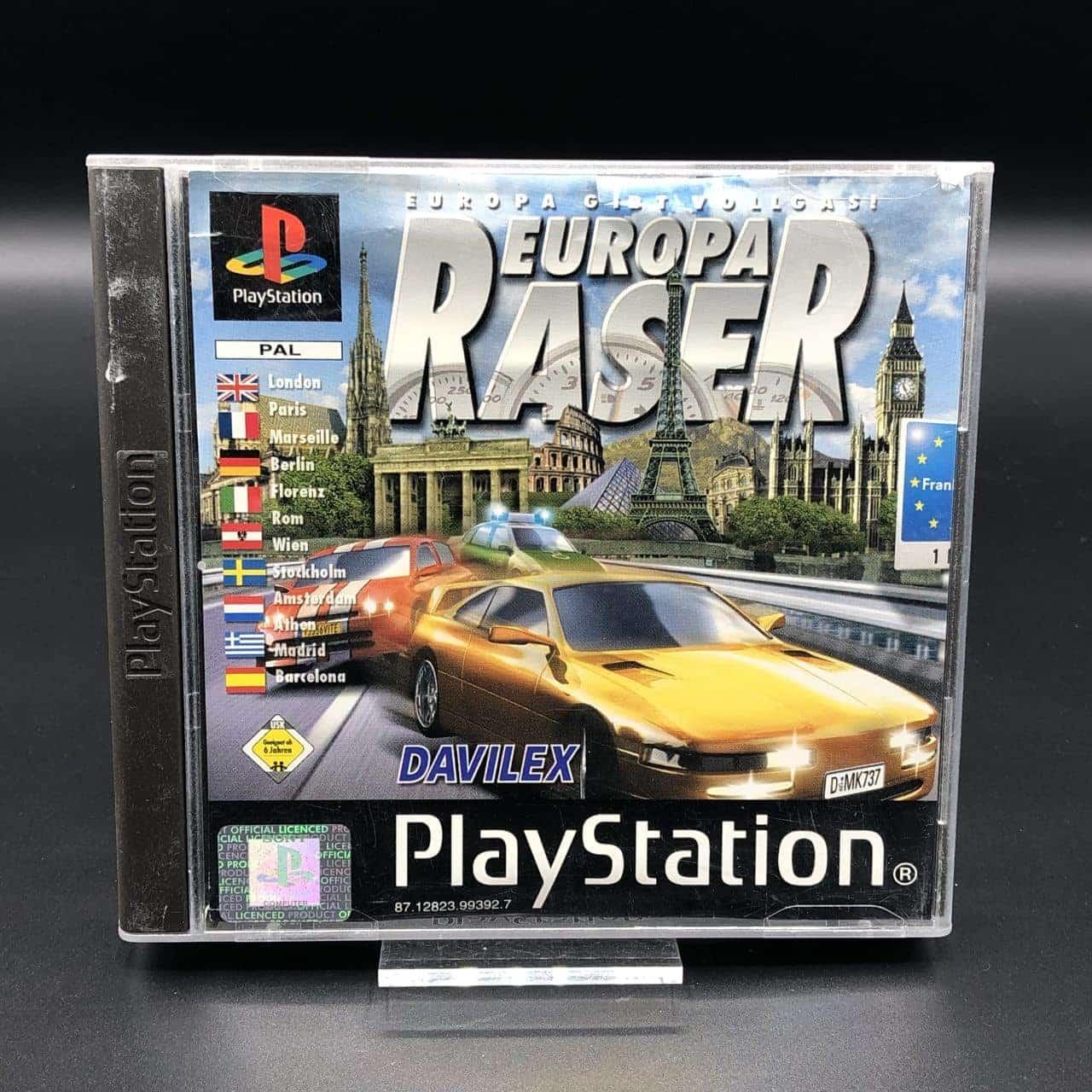 PS1 Europa Raser (Komplett) (Gut) Sony PlayStation 1