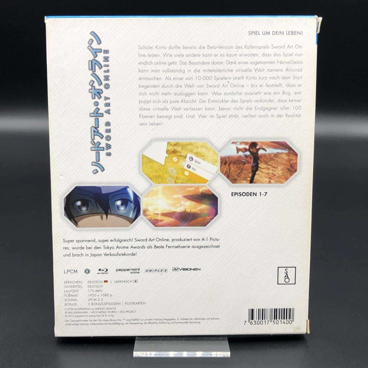 Sword Art Online Vol. 1 (Blu-Ray) (Sehr gut) Anime