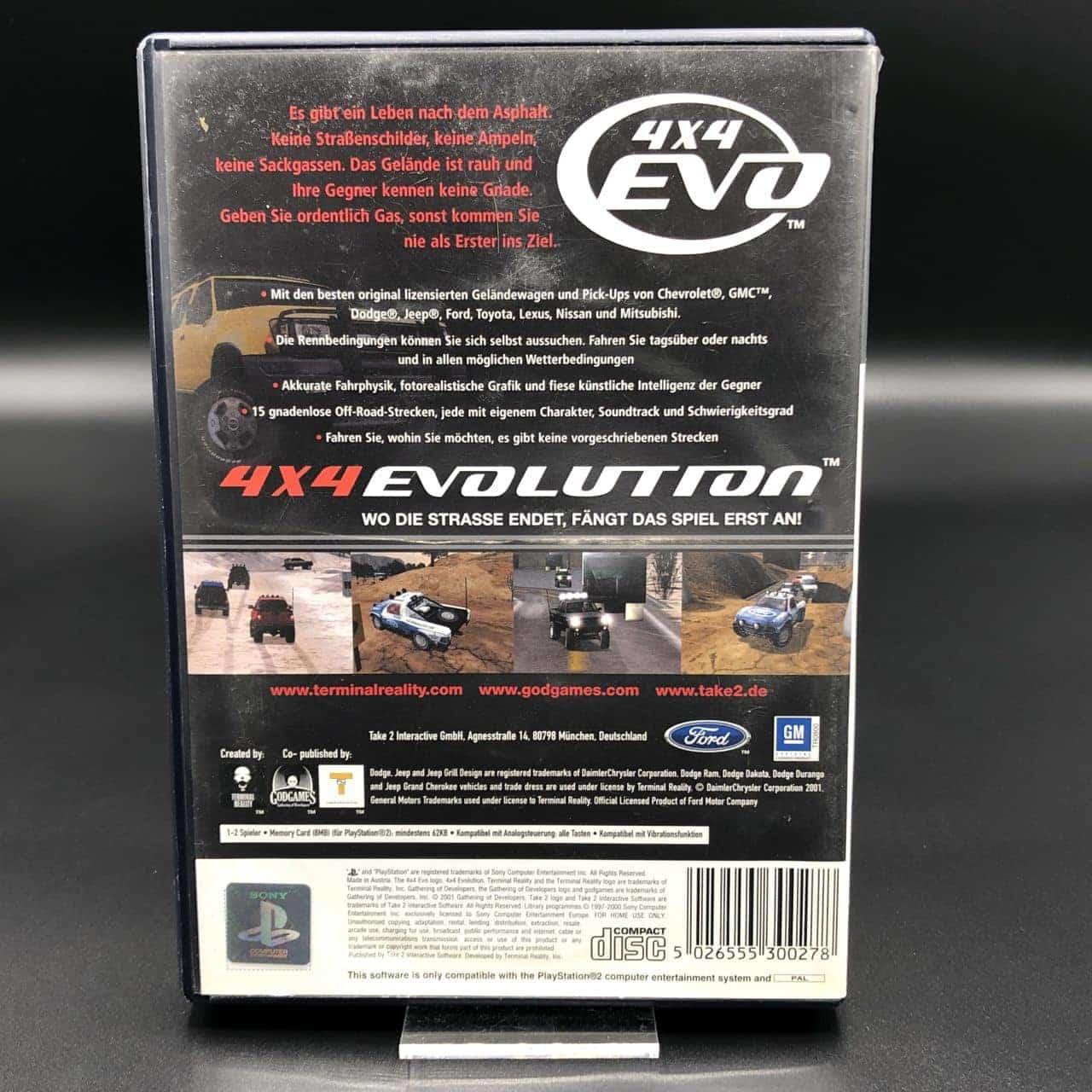 PS2 4x4 EVO (Komplett) (Gebrauchsspuren) Sony PlayStation 2