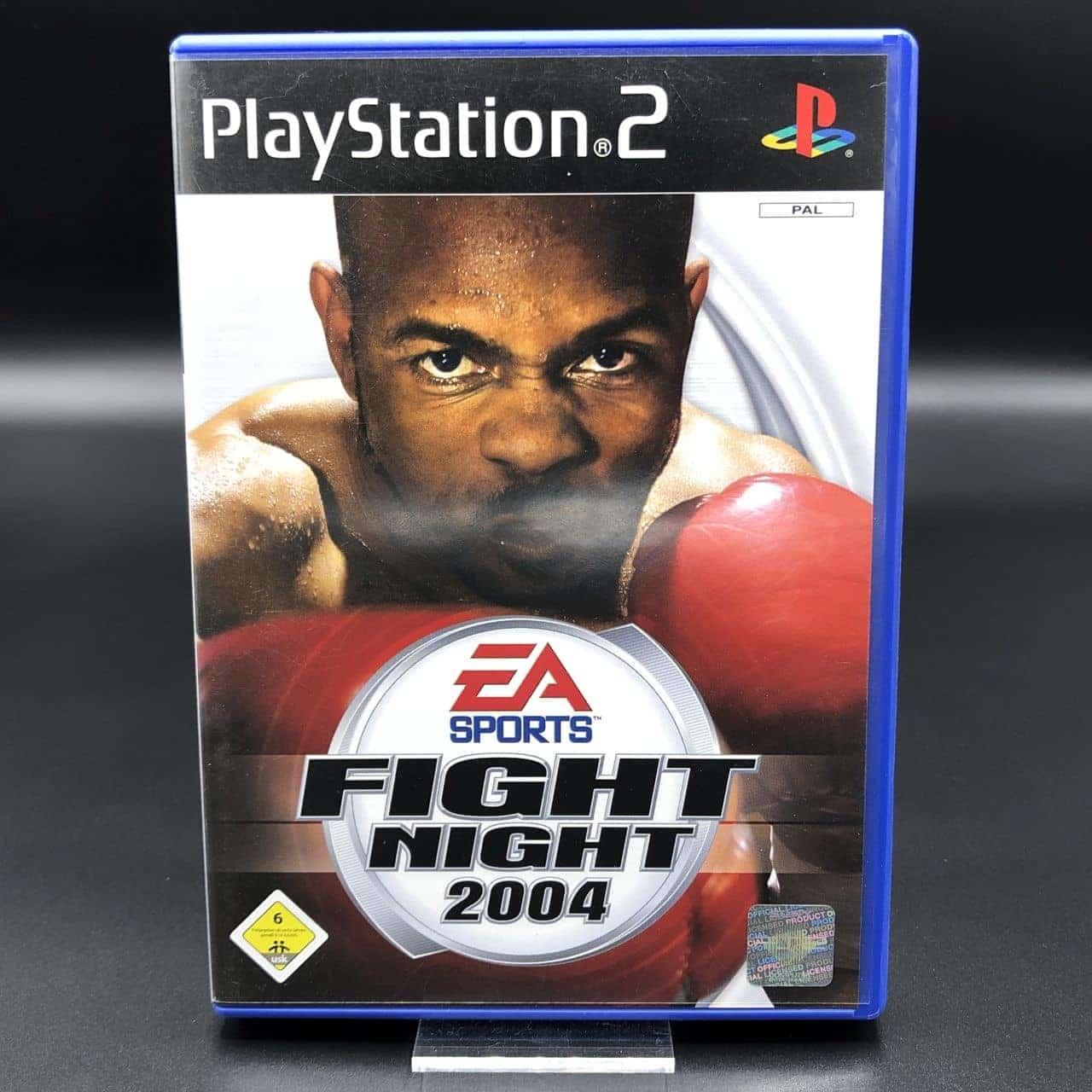 PS2 EA Sports Fight Night 2004 (Komplett) (Sehr gut) Sony PlayStation 2