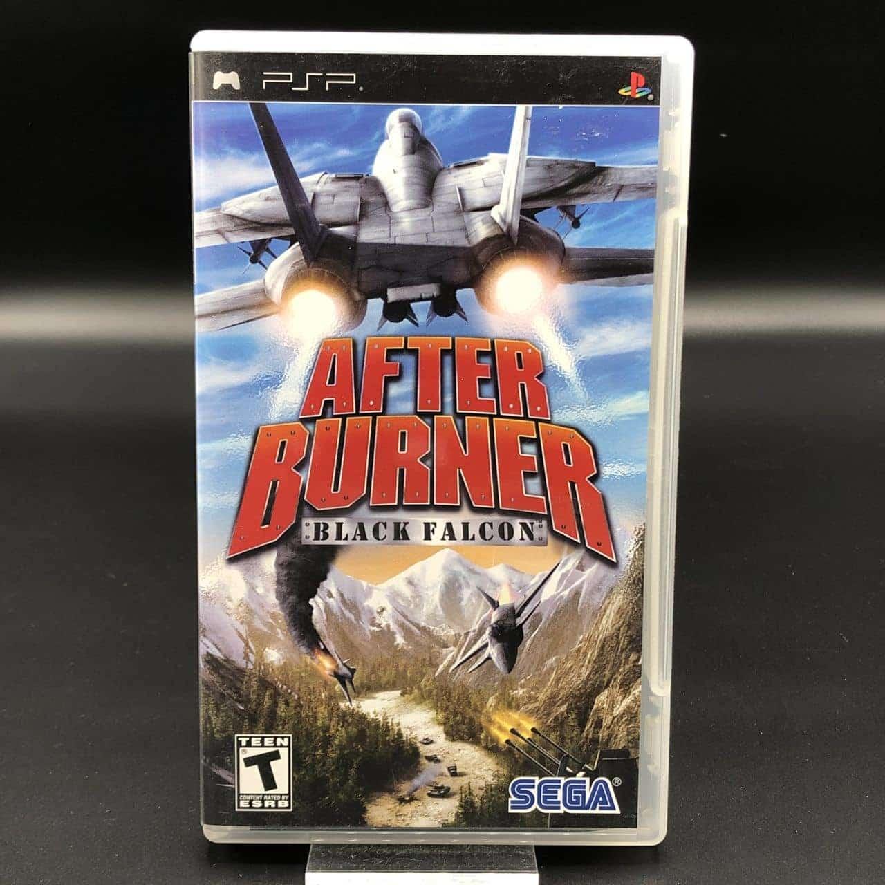 PSP After Burner: Black Falcon (Import USA) (Komplett) (Sehr gut) Sony PlayStation Portable