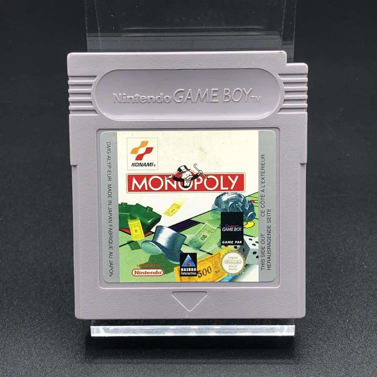 GB Monopoly (Modul) (Gut) Nintendo Game Boy
