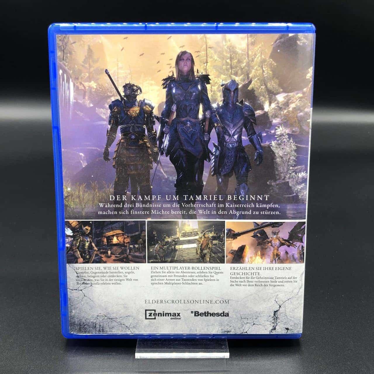 PS4 The Elder Scrolls Online: Tamriel Unlimited (Sehr gut) Sony PlayStation 4