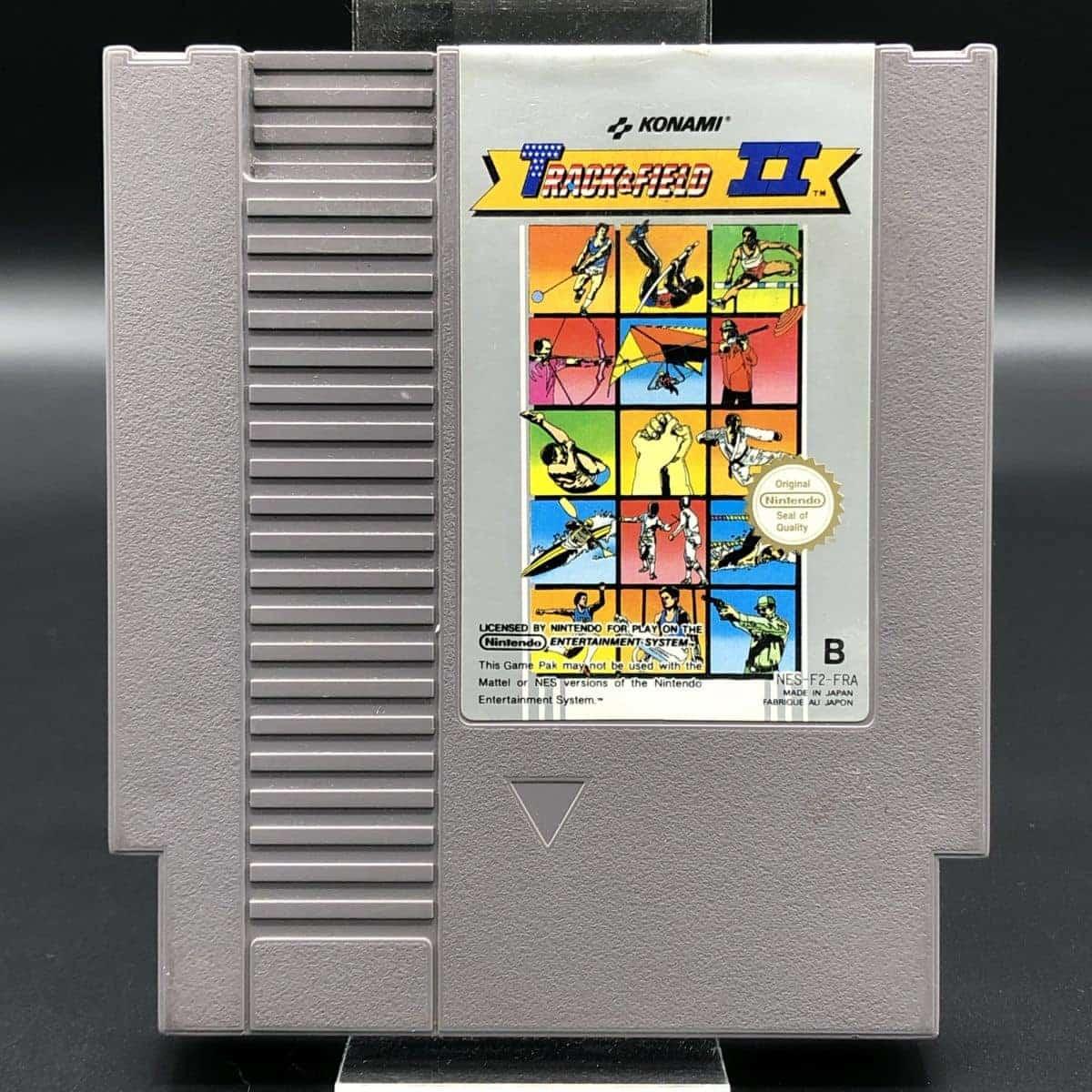 NES Track & Field II (Modul) (Gut) Nintendo Entertainment System