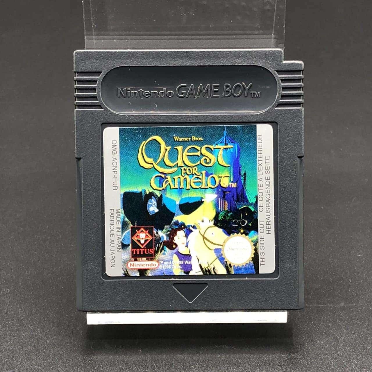 GBC Quest for Camelot (Modul) (Sehr gut) Nintendo Game Boy