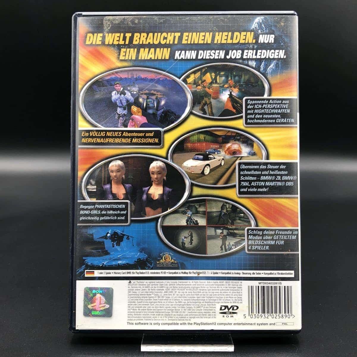 PS2 James Bond 007 in Agent im Kreuzfeuer (Komplett) (Sehr gut) Sony PlayStation 2
