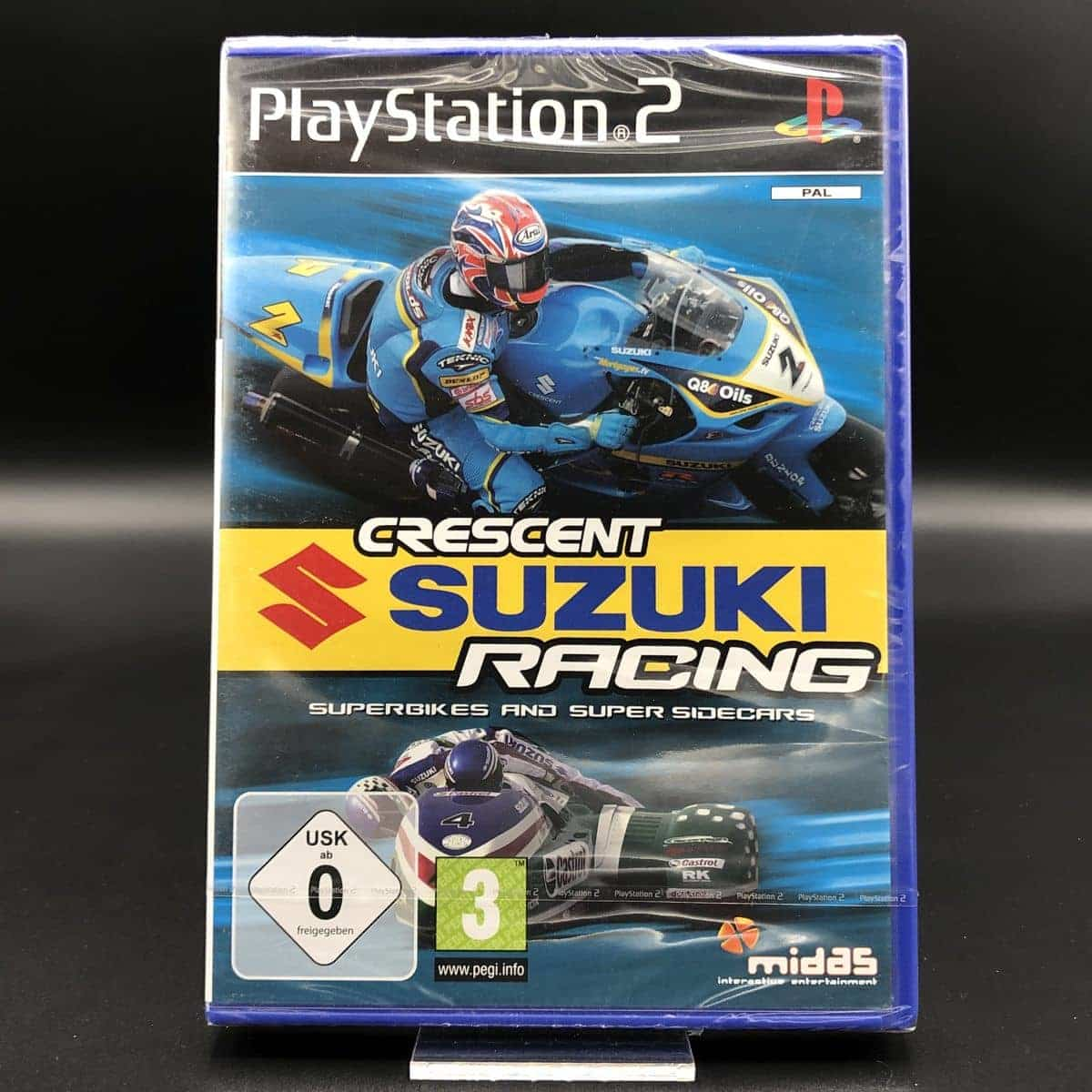 PS2 Crescent Suzuki Racing: Superbikes and Super Sidecars (NEU) Sony PlayStation 2