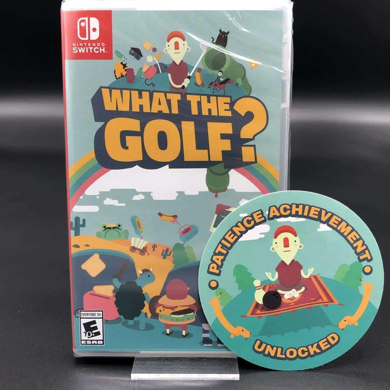 What the Golf? (Import) (NEU) Nintendo Switch