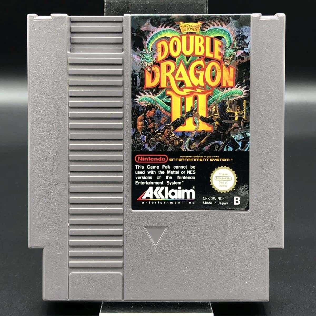 NES Double Dragon III: The Sacred Stones (Modul) (Gut) Nintendo Entertainment System