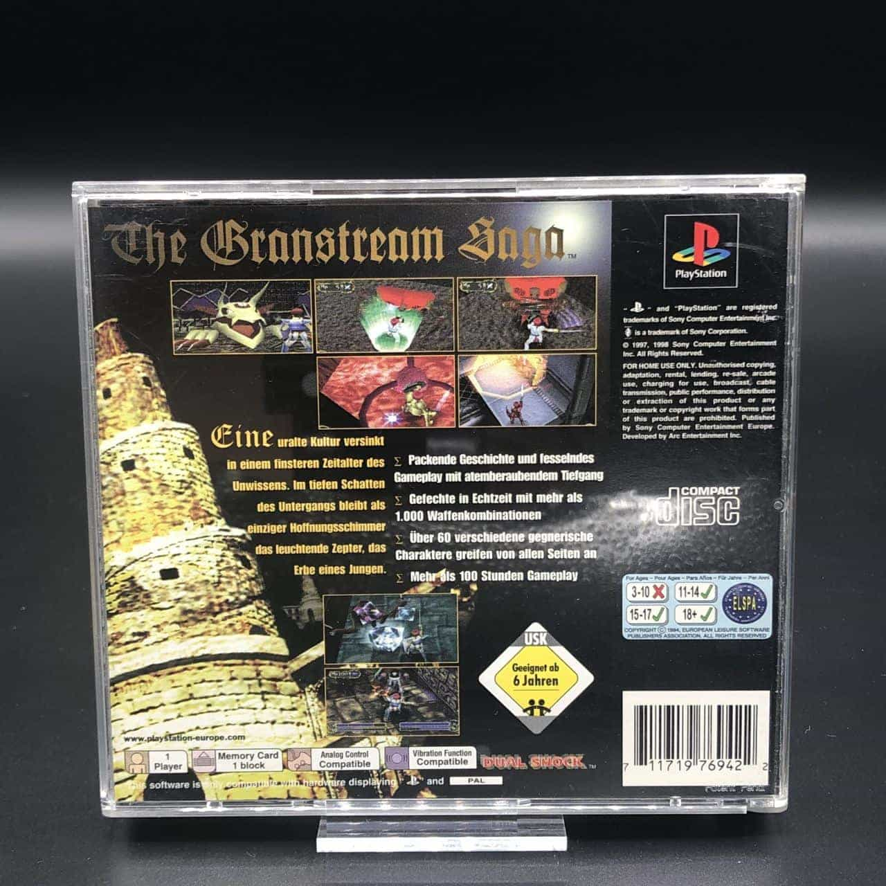 PS1 The Granstream Saga (Komplett) (Sehr gut) Sony PlayStation 1