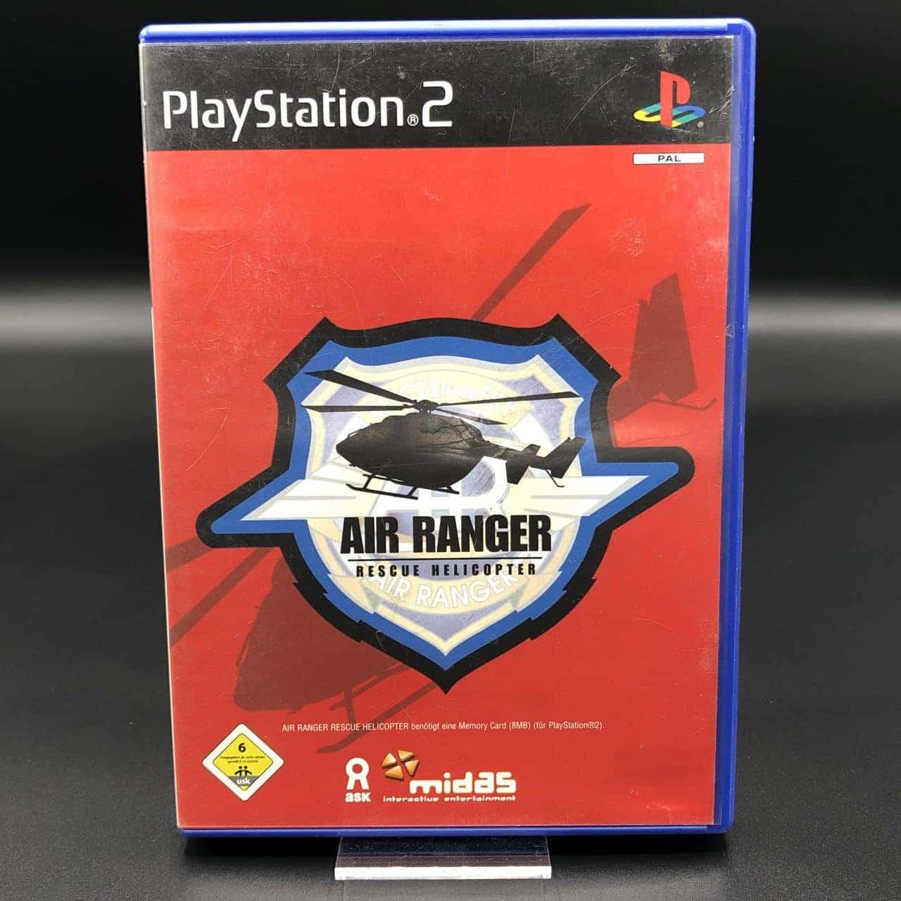PS2 Air Ranger: Rescue Helicopter (ohne Anleitung) (Gebrauchsspuren) Sony PlayStation 2