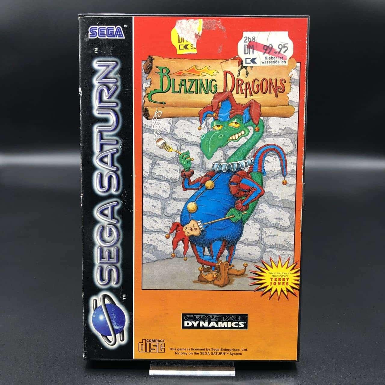 Blazing Dragons (ohne Anleitung) (Gut) Sega Saturn