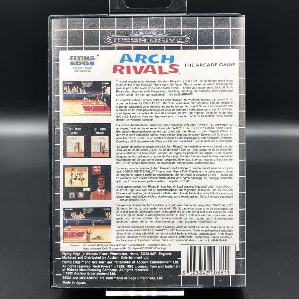 Arch Rivals: The Arcade Game (ohne Anleitung) (Sehr gut) Sega Mega Drive
