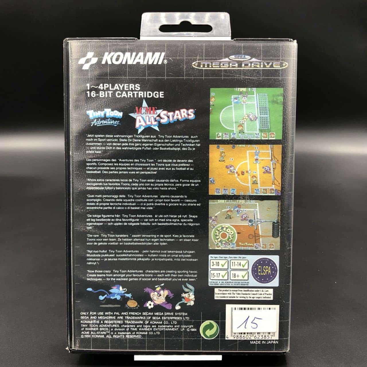 Tiny Toon Adventures: ACME All-Stars (ohne Anleitung) (Sehr gut) Sega Mega Drive