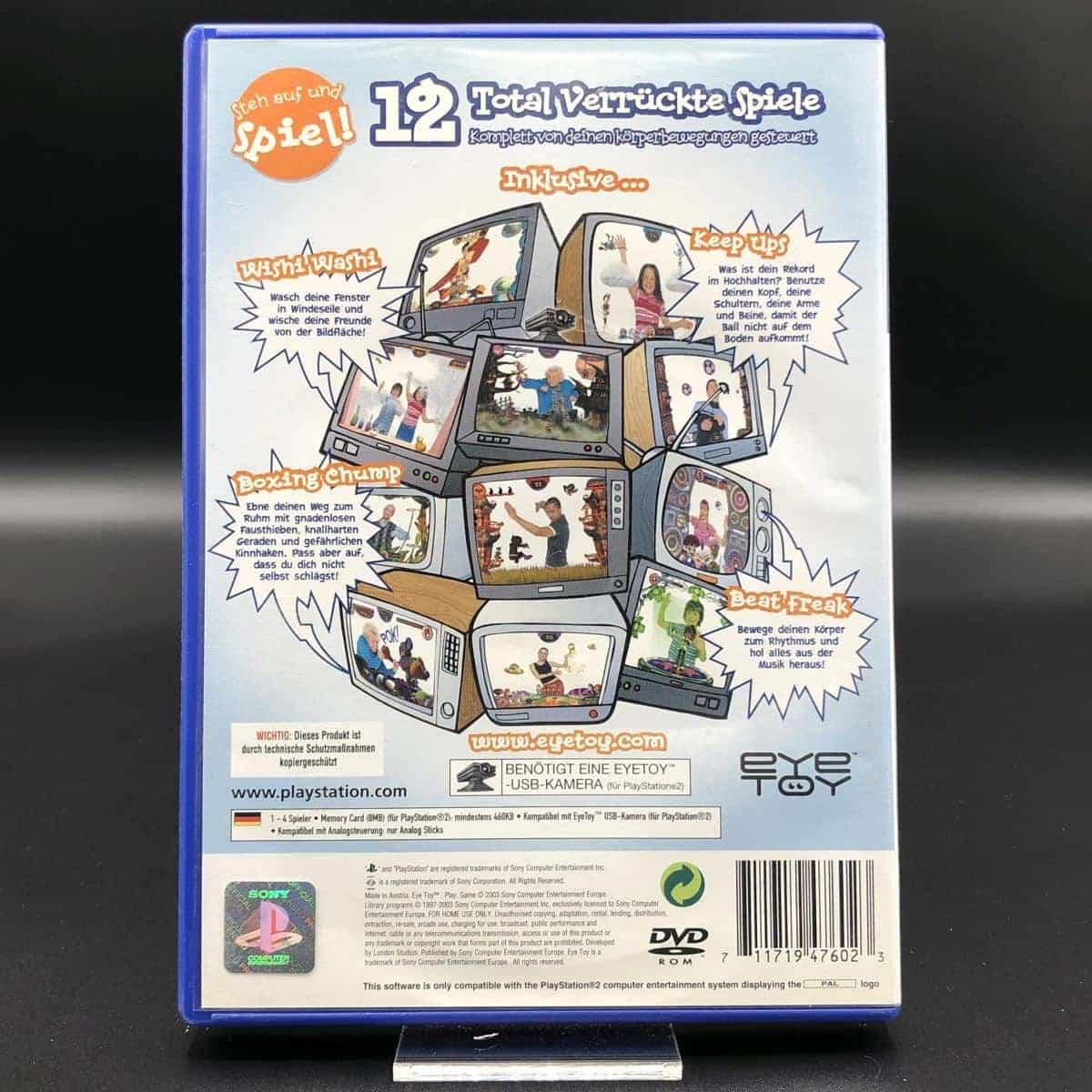 PS2 EyeToy: Play (Komplett) (Sehr gut) Sony PlayStation 2