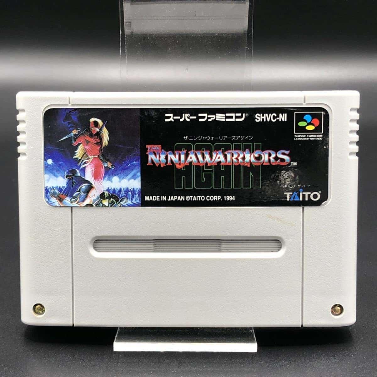SNES Ninja Warriors - The New Generation (Modul) (Sehr gut) Super Nintendo