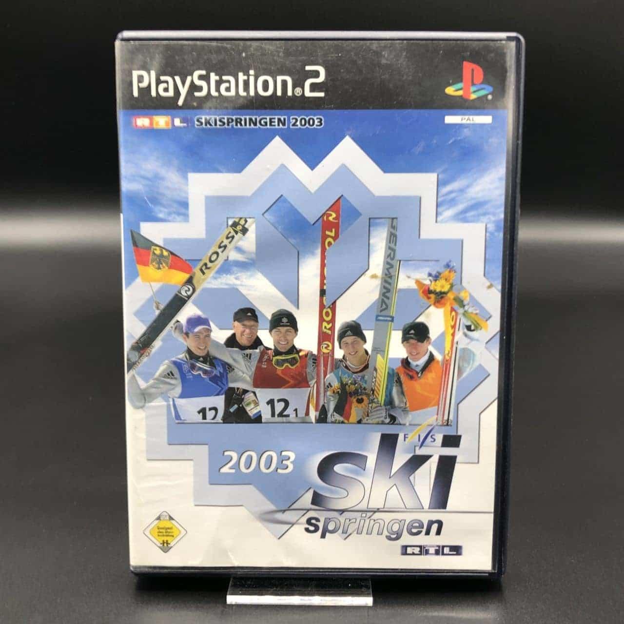 PS2 RTL Skispringen 2003 (Komplett) (Gebrauchsspuren) Sony PlayStation 2