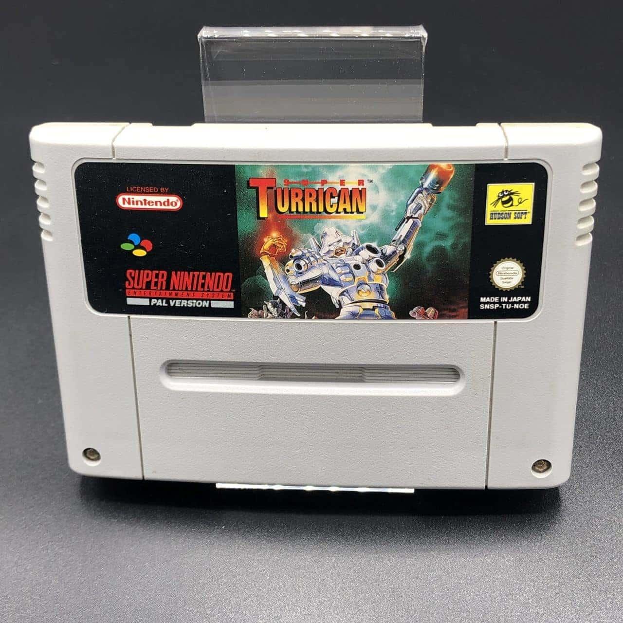SNES Super Turrican (Modul) (Gut) Super Nintendo