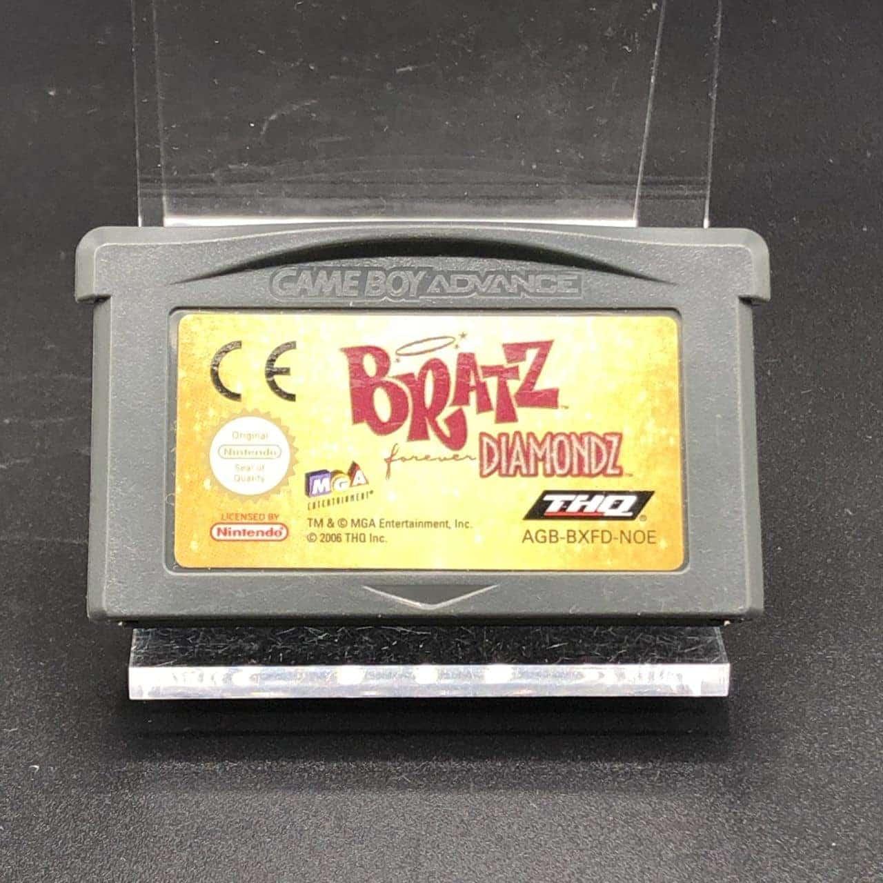 GBA Bratz: Forever Diamondz (Modul) (Gut) Nintendo Game Boy Advance
