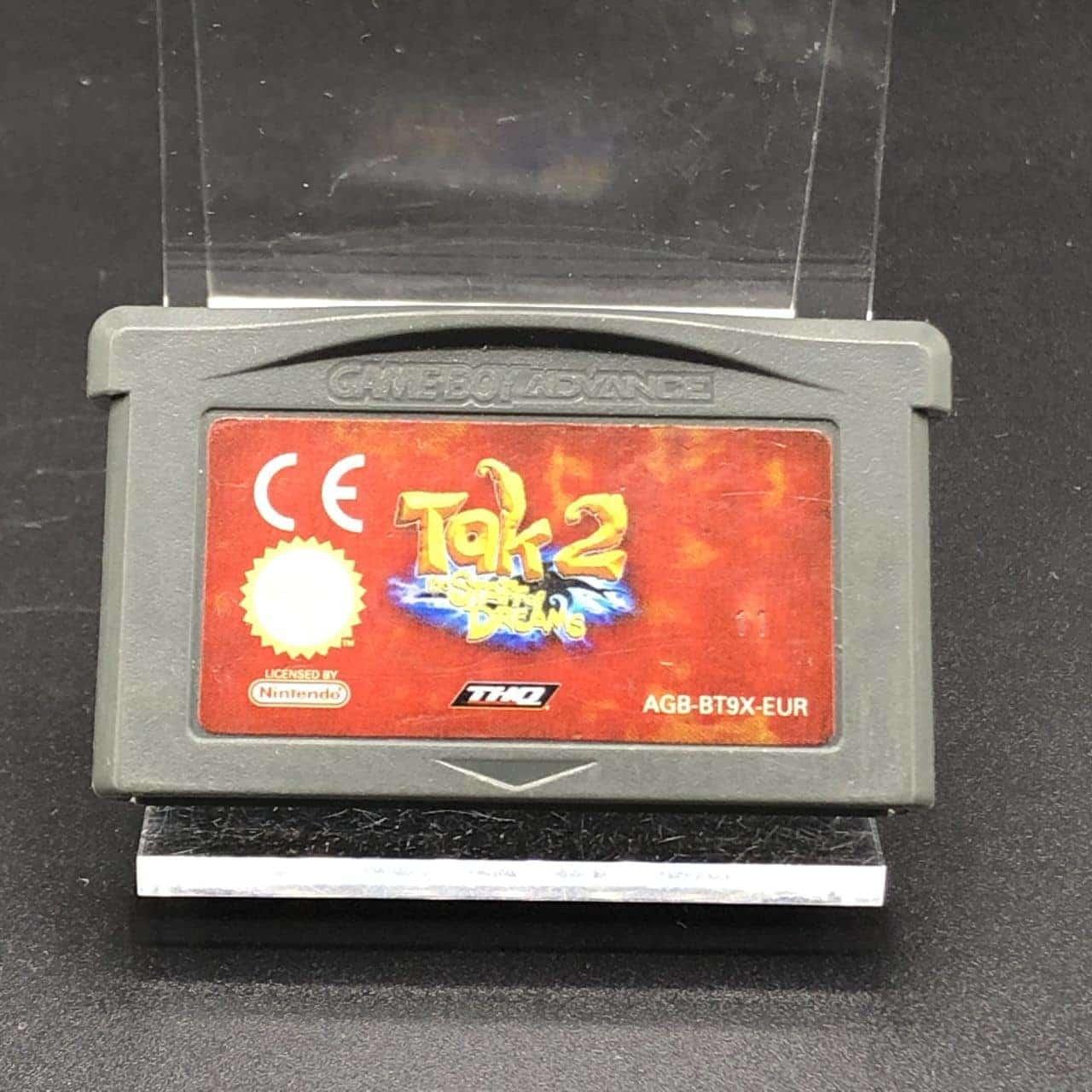 GBA Tak 2: The Staff of Dreams (Modul) (Gebrauchsspuren) Nintendo Game Boy Advance