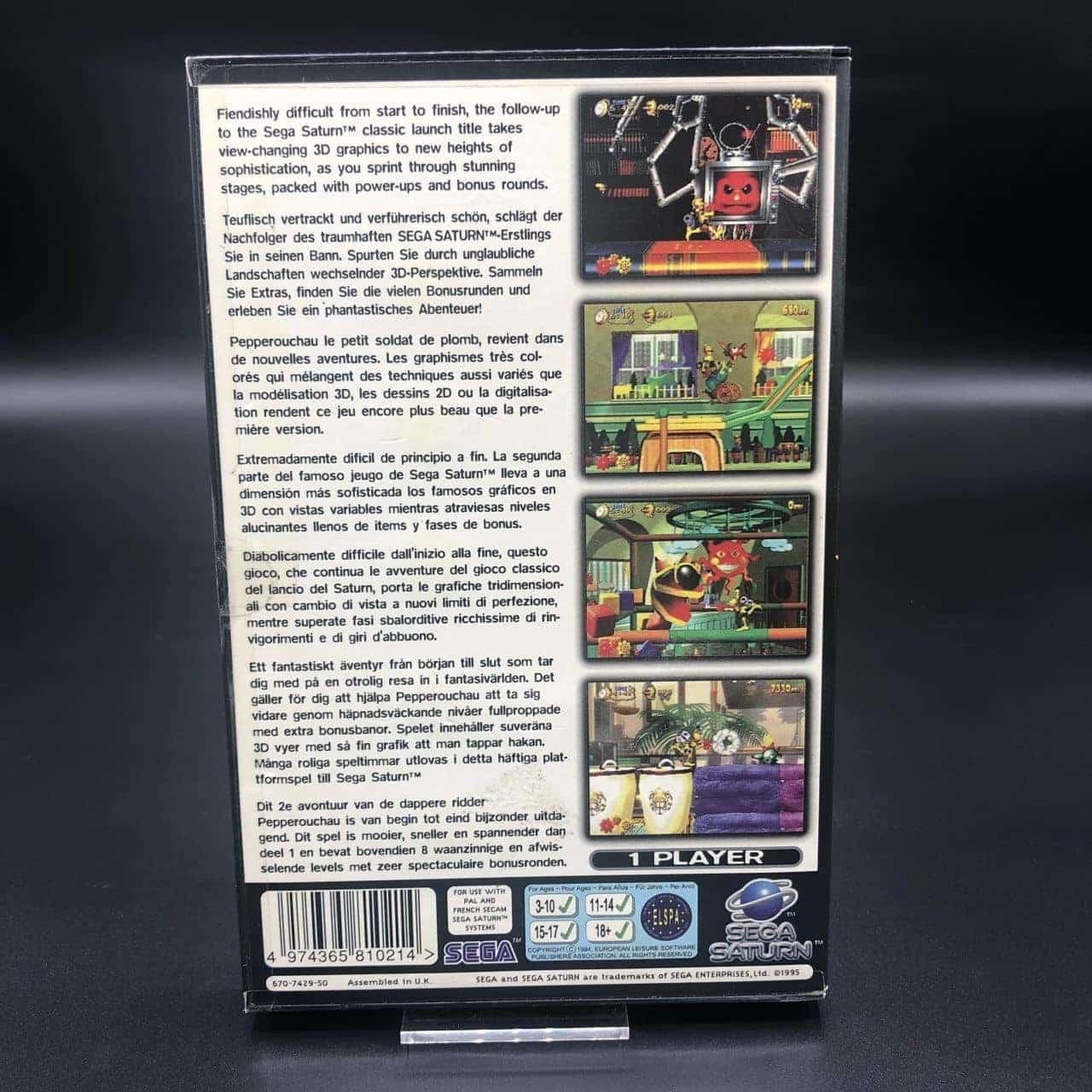 Clockwork Knight 2 (Komplett) (Sehr gut) Sega Saturn