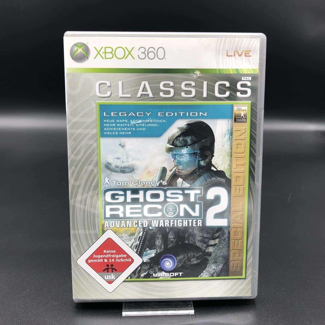 Tom Clancy's Ghost Recon Advanced Warfighter 2 (Legacy Edition) (Classics) (Komplett) (Sehr gut) Xbox 360 (FSK18)