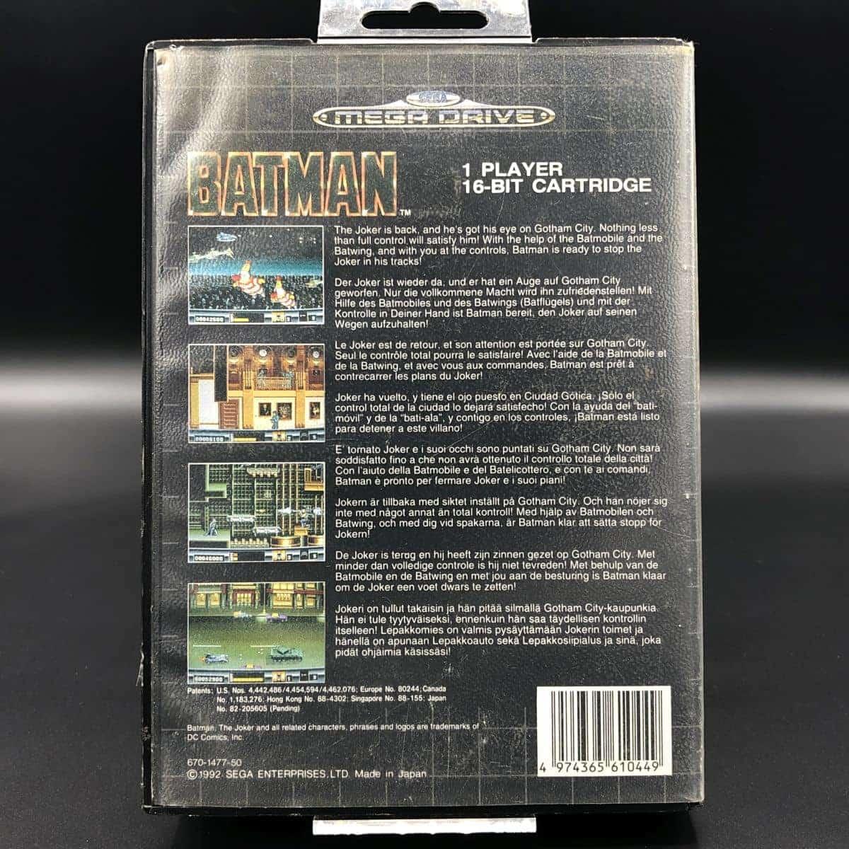 Batman (ohne Anleitung) (Gut) Sega Mega Drive