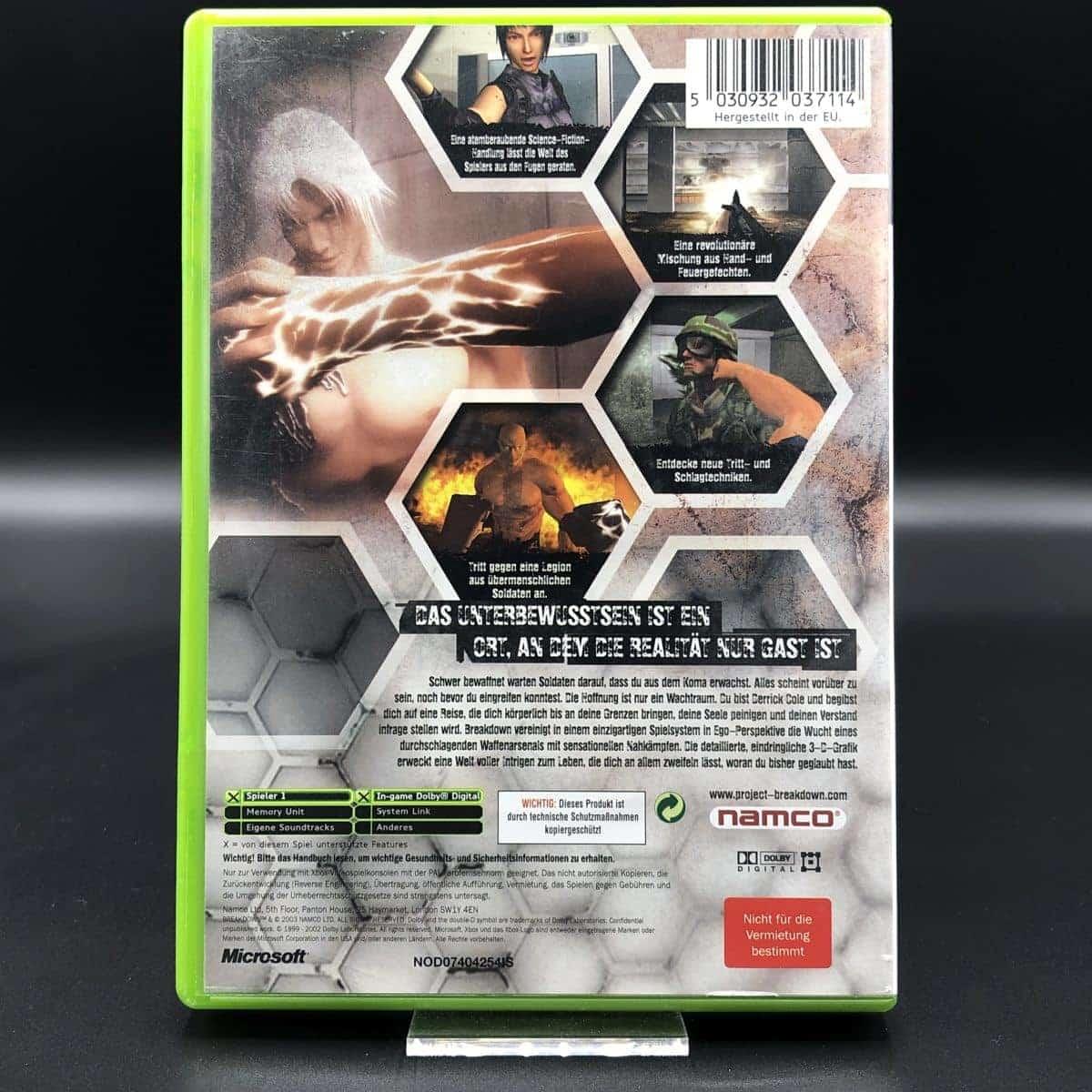 XBC Breakdown (Komplett) (Sehr gut) Microsoft Xbox Classic