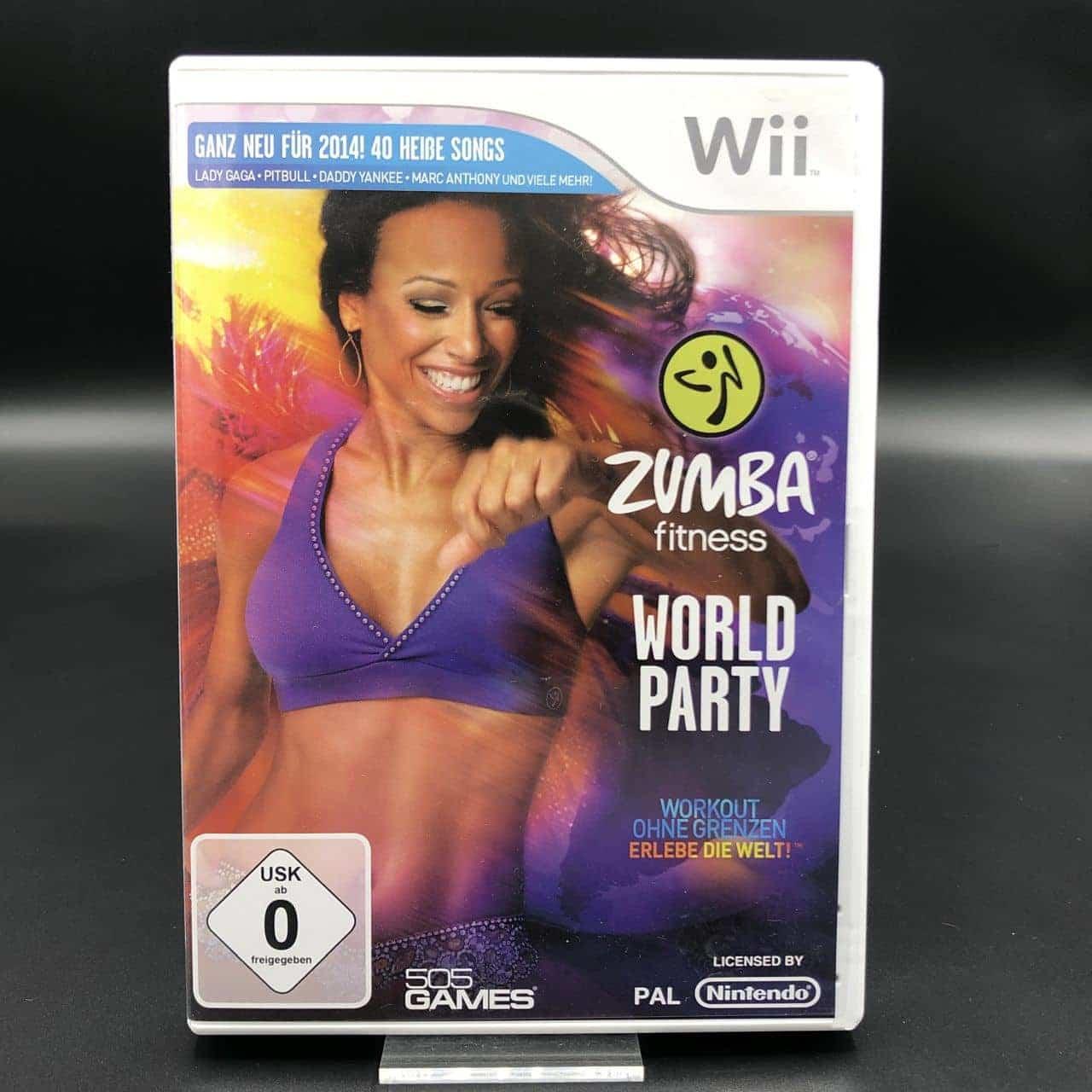 Zumba Fitness: World Party (Komplett) (Sehr gut) Nintendo Wii